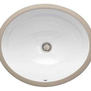 Undermount  Oval Vanity Sink