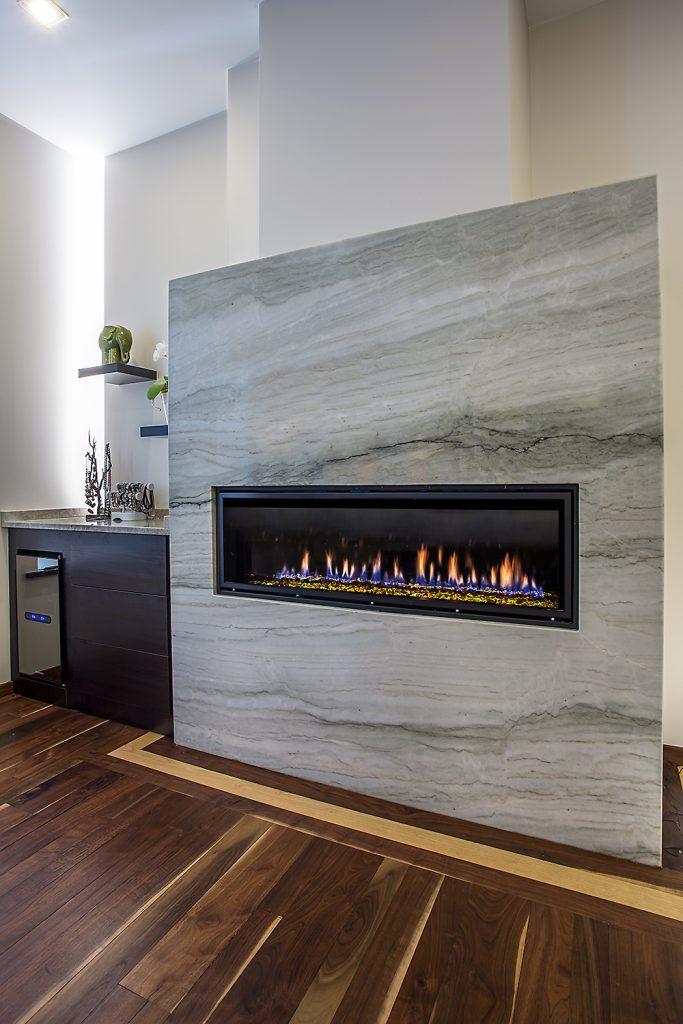 Sea Pearl Quartz Fireplace Oz Enterprises Llc